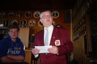 Begrüßung duch den 1. Vorsitzenden Dirk Kreuser